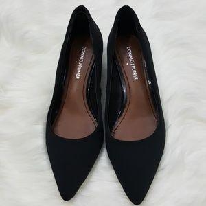Donald J Pliner Franc D Black Heels Size 6.5